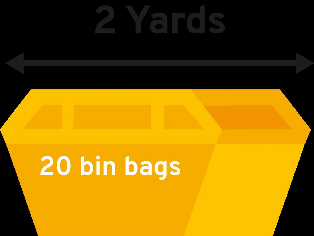 2 Yard Dereham Skip Hire Icon