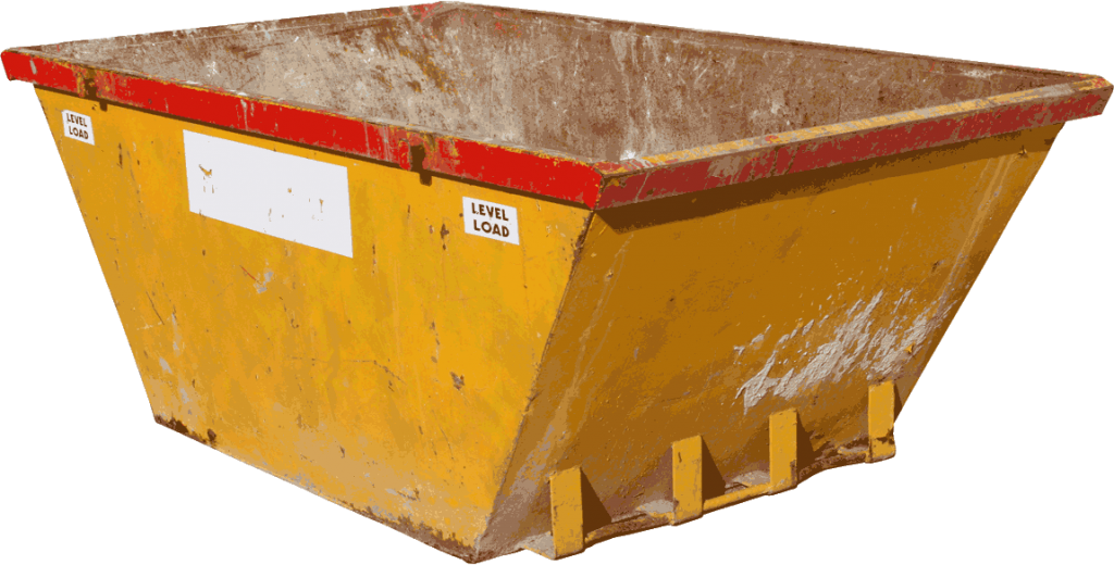 Skip Hire Cut Out Of Background